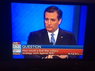 Cruz on Debate