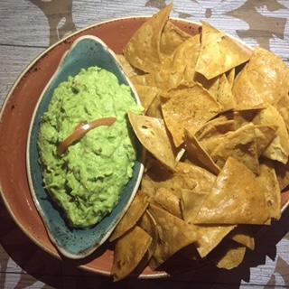 nachos horchata