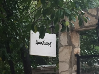 HARTWOOD SIGN