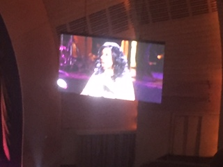 Aretha at Clive concert Radio City