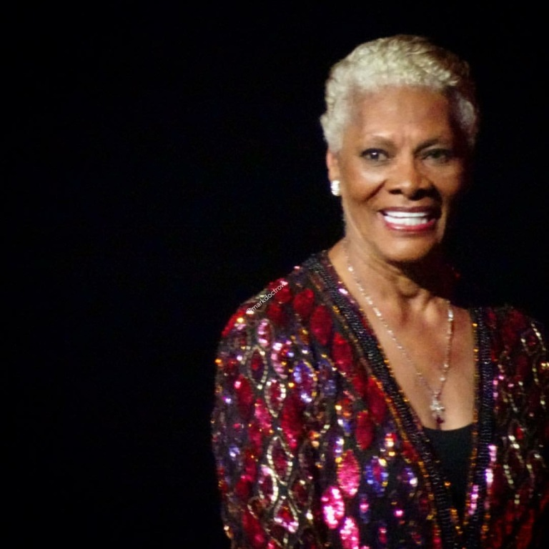 Dionne Warwick at Clive Concert