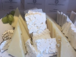 Electra Metropolis Hotel Athens cheeses