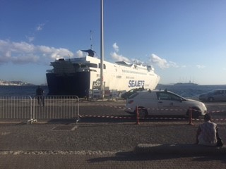 SeaJet Ferry at Mykonos New Port