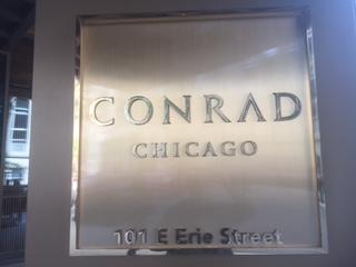 Conrad Chicago sign Lowdown