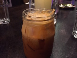 Charms Restaurant New York City Thai Iced Tea