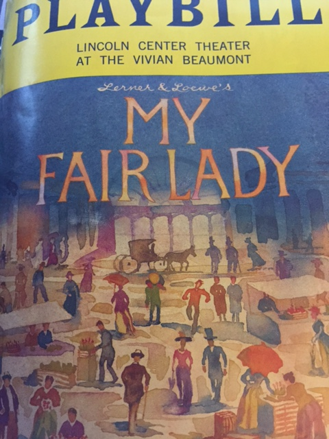 My Fair Lady Playbill