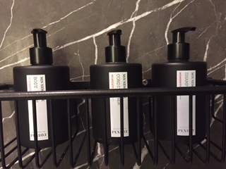 Sagamore Pendry Plastic Bottles Toiletries