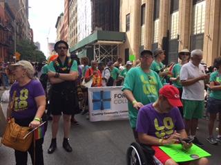 NYC Pride March Collegiate Contingent