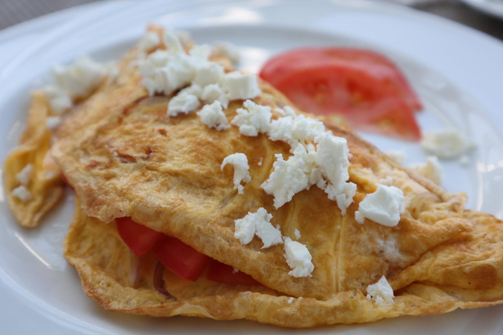 Omelette Mykonos Leto Hotel