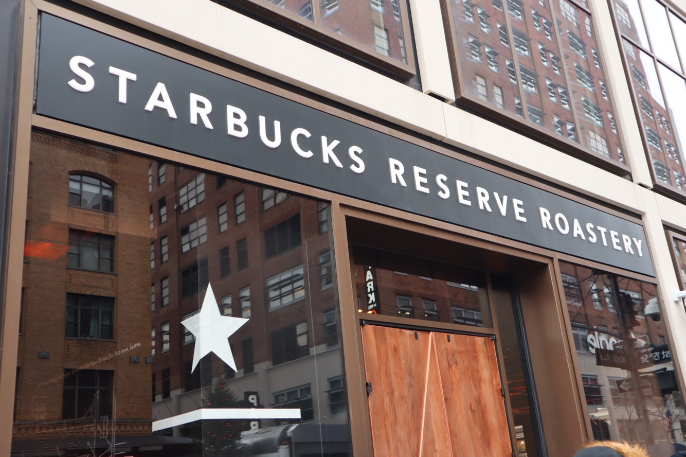 Second Us Starbucks Reserve Roastery Opens In Nyc The